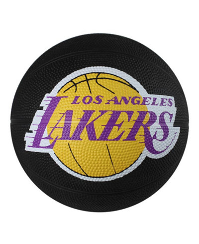 Spalding Los Angeles Lakers Size 3 Primary Logo Basketball
