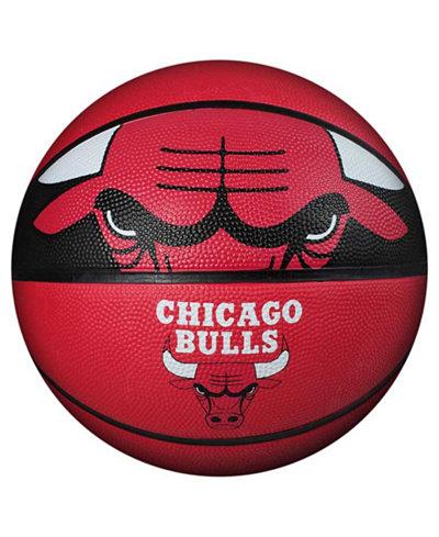 Spalding Chicago Bulls Size 7 Courtside Basketball