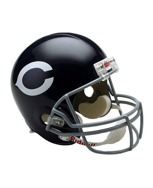 8fc8bd331658d Riddell Chicago Bears Deluxe Replica Helmet - Sports Fan Shop By ...