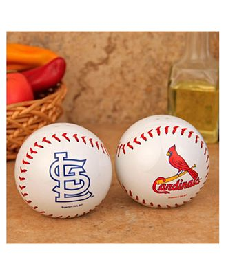 Boelter Brands St. Louis Cardinals Baseball Salt & Pepper Shakers