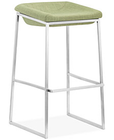 Zuo Lance Bar Stool (Set of 2), Quick Ship