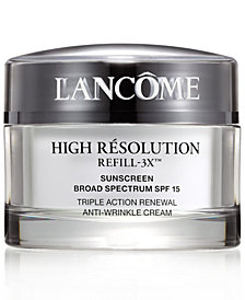 Lancôme High Résolution Refill-3X Anti-Wrinkle Moisturizer Cream, 2.6 oz