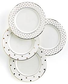 Larabee Road Polka Dot Tidbit Plates