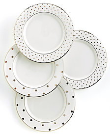 kate spade new york Larabee Road Polka Dot Tidbit Plates