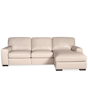 Fabrizio leather 3 piece chaise sectional sofa furniture for 3 piece leather sectional sofa with chaise