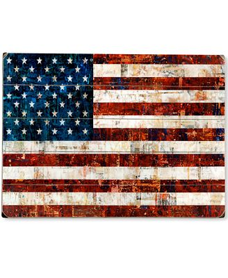 American Flag Wall Art artehouse american flag wall art - wall art - macy's
