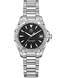 TAG Heuer Women's Swiss Aquaracer Stainless Steel Bracelet Watch 32mm WAY1310.BA0915