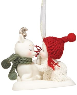 Department 56 Snowbabies Oh Deer! Ornament