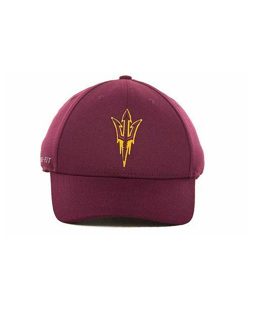 Nike Arizona State Sun Devils Dri-FIT Swoosh Flex Cap - Sports Fan ... d4f71ff83e34