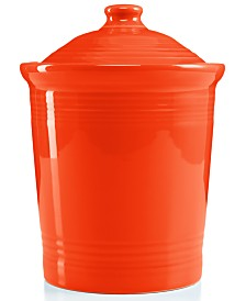 Fiesta Poppy 3 qts. Large Canister
