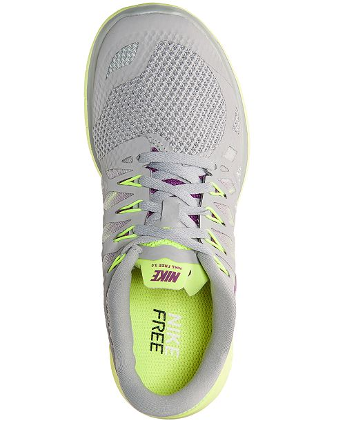 big sale 9dd85 86c50 ... Nike Women s Free 5.0 2014 Running Sneakers from Finish Line ...
