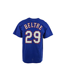 Majestic Men's Adrian Beltre Texas Rangers Official Player T-Shirt