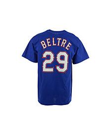 Majestic Men's Adrian Beltre Texas Rangers Official Player T-Shirt