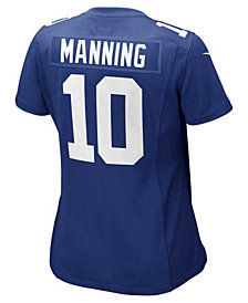 Nike Women's Eli Manning New York Giants Game Jersey