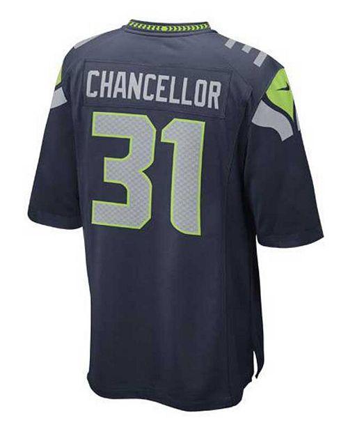 Nice Nike Men's Kam Chancellor Seattle Seahawks Game Jersey & Reviews  free shipping