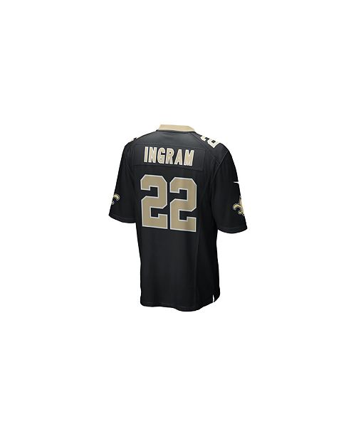 finest selection fb3f6 4cd21 Men's Mark Ingram New Orleans Saints Game Jersey