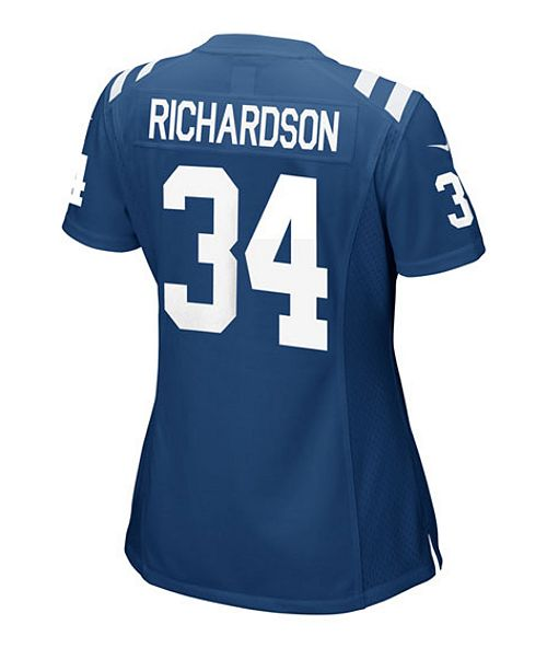 Nike Women's Trent Richardson Indianapolis Colts Game Jersey