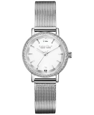 Caravelle New York by Bulova Women's Stainless Steel Mesh Bracelet Watch 20mm 43L170