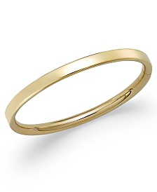 Children's Hinge Bangle Bracelet in 14k Gold