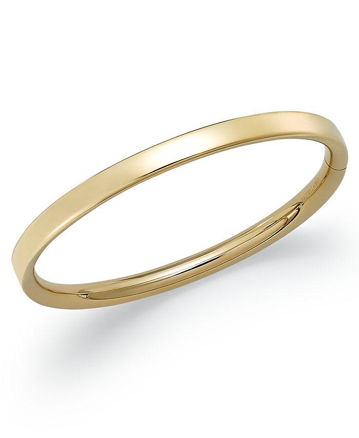 Macy's - Children's Hinge Bangle Bracelet in 14k Gold