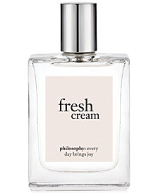 philosophy fresh cream eau de toilette, 2 oz