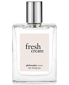 philosophy fresh cream eau de toilette, 2 oz