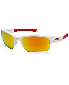 Oakley QUARTER JACKET YOUTH Sunglasses, OO9200 ages 11-13