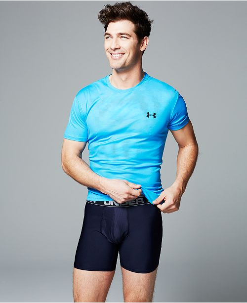 Under Armour Men's Flyweight T-Shirt & 2-Pack O-Series Boxer Briefs