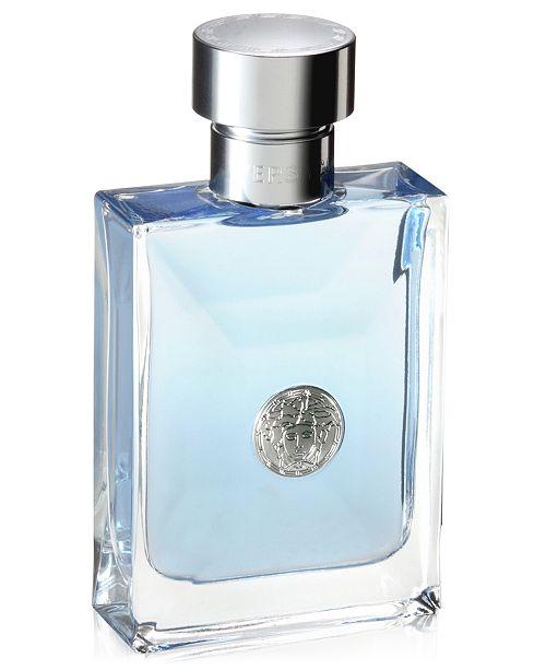 8059934034fe1e Versace Men's Pour Homme Eau de Toilette Spray, 3.4 oz. & Reviews ...