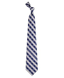 Eagles Wings Indianapolis Colts Checked Tie