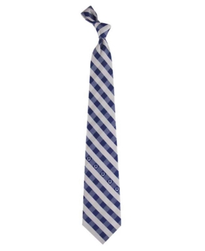 Indianapolis Colts Checked Tie
