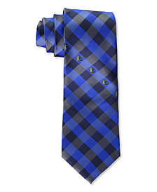 Eagles Wings Dallas Mavericks Checked Tie