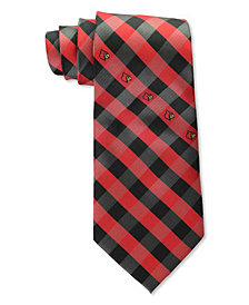 Eagles Wings Louisville Cardinals Checked Tie