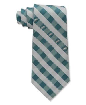 Philadelphia Eagles Checked Tie