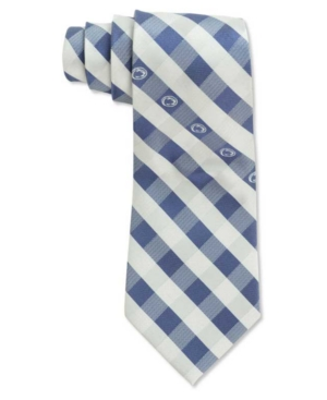 Penn State Nittany Lions Checked Tie