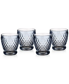 Boston Double Old-Fashioned Set of 4