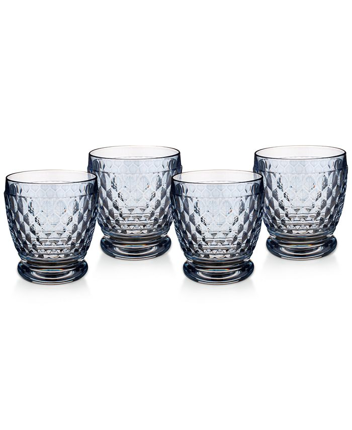Villeroy & Boch - Boston Double Old-Fashioned Set of 4
