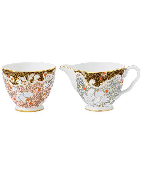 Wedgwood Daisy Tea Story Cream and Sugar Set