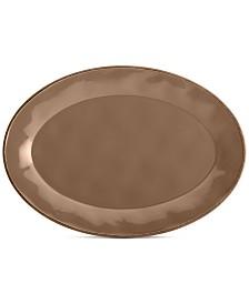 Cucina Mushroom Brown Oval Platter