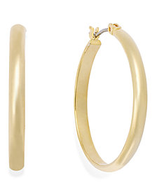 Charter Club Medium Band Hoop Earrings