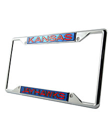 Stockdale Kansas Jayhawks License Plate Frame