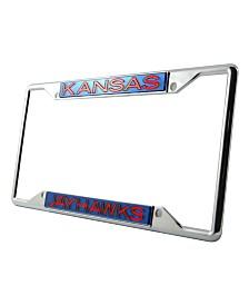 Stockdale Kansas Jayhawks License Plate Frame