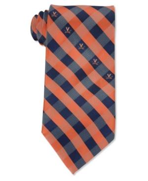 Virginia Cavaliers Checked Tie