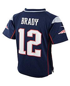 Nike Toddler Boys' Tom Brady New England Patriots Game Jersey