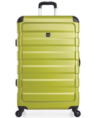 "Image of Tag Matrix 28"" Hardside Spinner Suitcase, Only at Macy's"