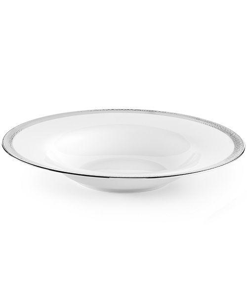 Michael Aram Dinnerware, Silversmith Rim Soup Bowl