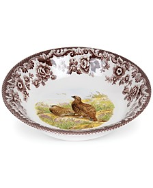 Spode Woodland Red Grouse Ascot Cereal Bowl