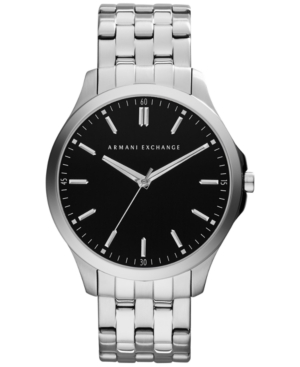 AX Armani Exchange Men's Stainless Steel Bracelet Watch 45mm AX2147