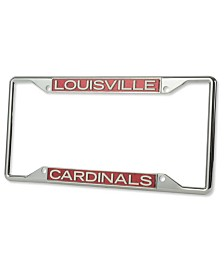 Stockdale Louisville Cardinals Glitter Laser License Plate Frame