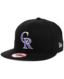 New Era Colorado Rockies MLB 2 Tone Link 9FIFTY Snapback Cap
